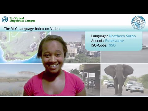 Northern Sotho - The Language Index on Video