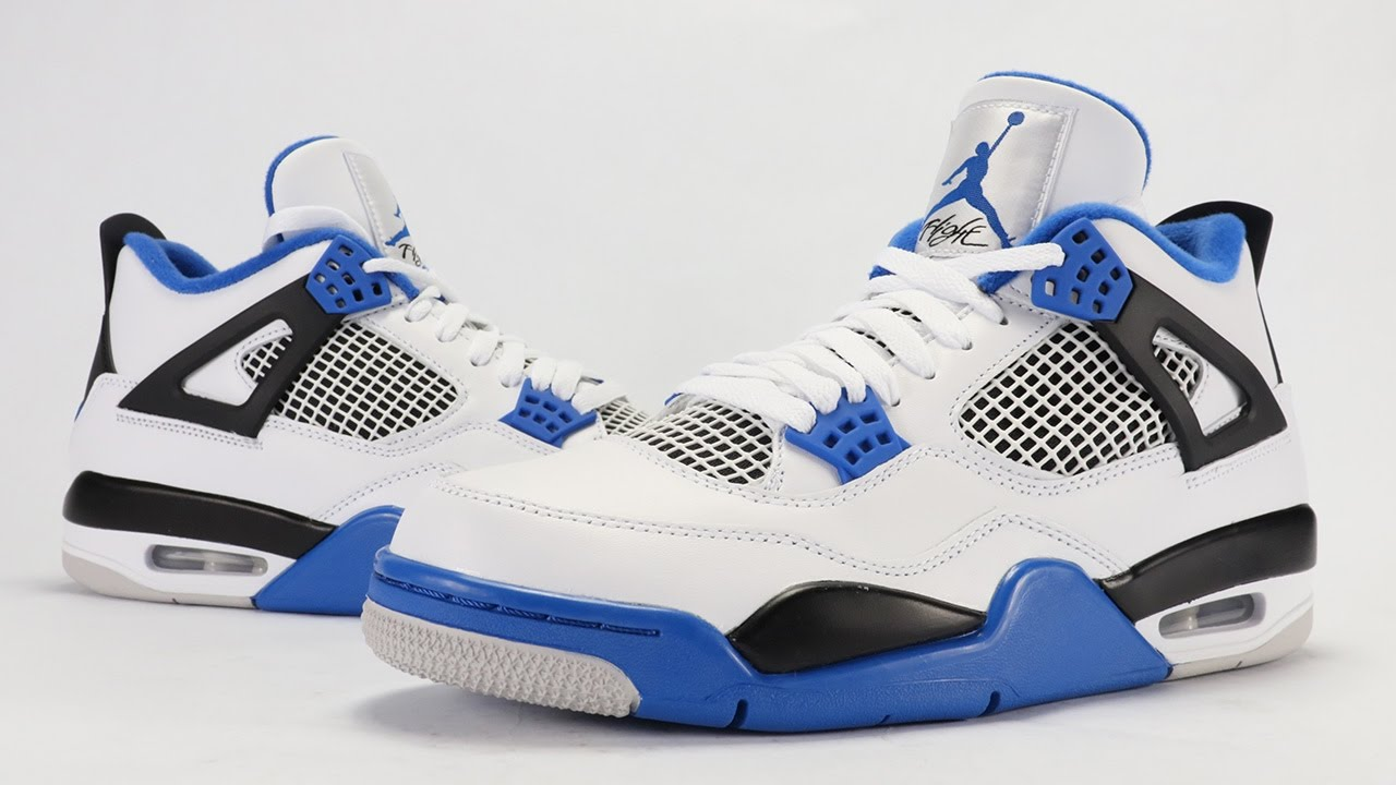 air jordan 4 motorsport review