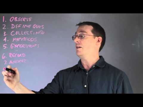 How to Record & Analyze Data Using the Scientific Method : Biology Lessons