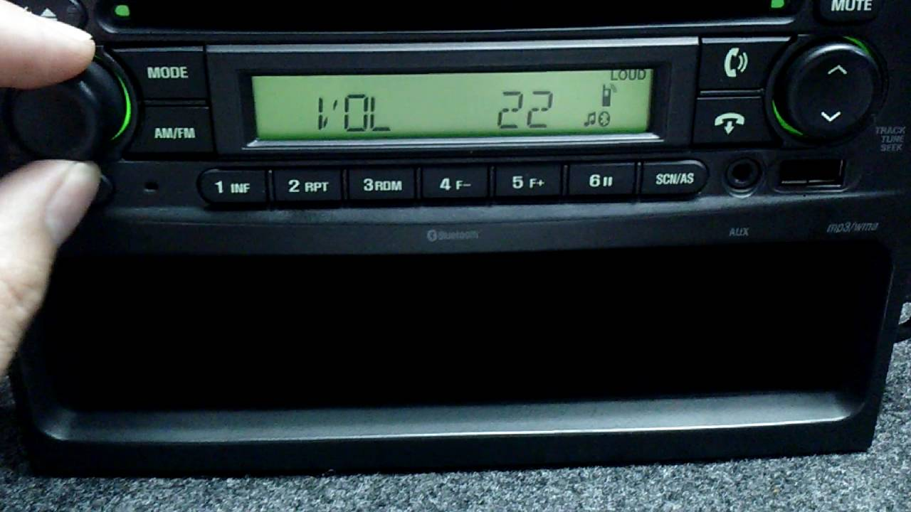 Estereo GM Aveo Chevrolet Am Fm AUX USB Bluetooth - YouTube