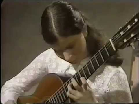 Rare Guitar Video: Sharon Isbin plays Mallorca by Isaac Albéniz 1975