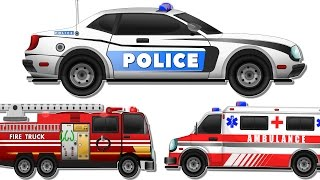 Police chase | Police Car Wash | Videos for kids | Police cars Cartoon for Children