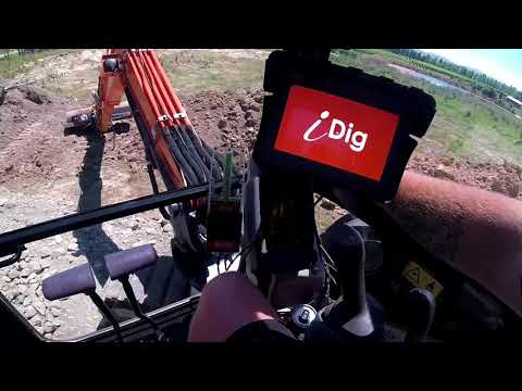 IDig 2D Affordable Laser Guidance System For Excavators - Walkthrough