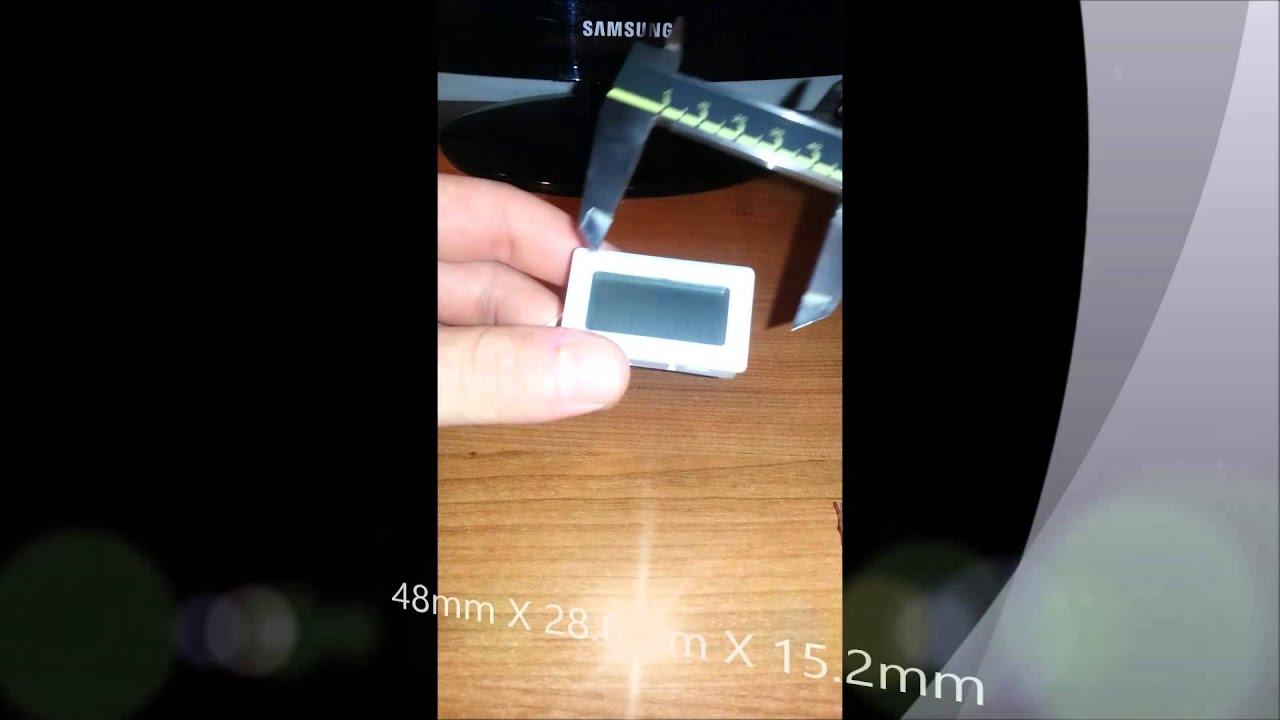 Termometro digitale 50 110 c per acquario banchi frigo for Termometro per acquario tartarughe