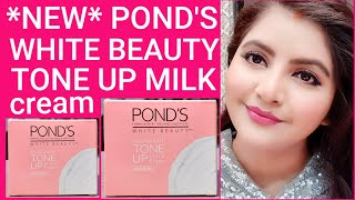 Ponds White Beauty Tone Up Milk Cream with Sunscreen review day cream for oily skin RARA