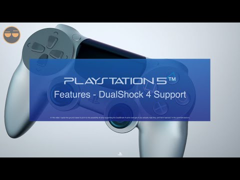 PS5 Features - Use PS4 Controller on PS5 (No need for new controllers)