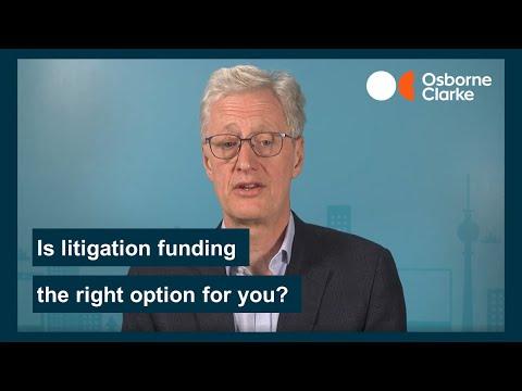 Should I use litigation funding?