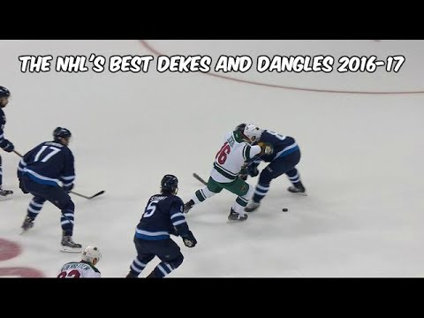 The NHL's Best Dekes And Dangles (2016-17 Season)