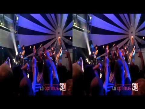 LG Optimus 3D P920 -- Film: Jane's Addiction Come Alive Concert in 3D