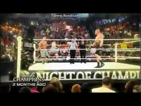 WWE - John Cena vs Seth Rollins - (Highlights) thumbnail
