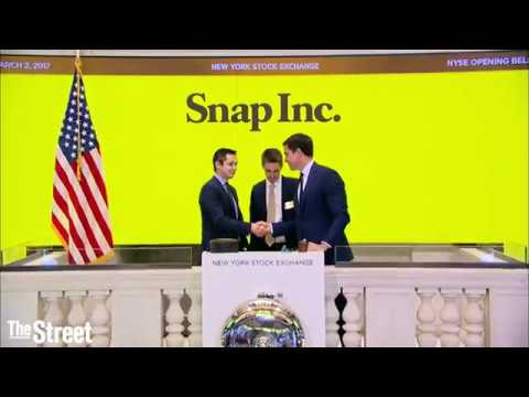 Snap Inc., parent company of Snapchat, makes its debut on the New York Stock Exchange.