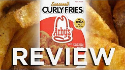 Arby's Frozen Seasoned Curly Fries Video Review: Freezerburns (Ep516)