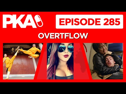 PKA 285 Top 10% PJ Fights Kung Fu, Woody's Airplane Fight, Taylor's Camp Story, Fired @Gamestop