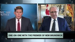 New Brunswick's Premier on vaccine distribution