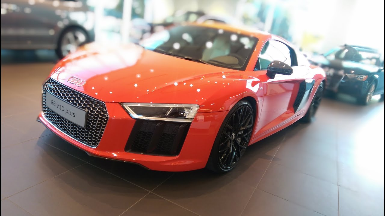 1st Audi R8 In America 2017 Audi R8 V10 Plus Virtual