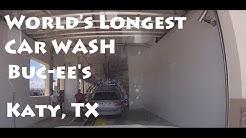 World's Longest Car Wash! MacNeil Tunnel at Buc-ee's, Katy, TX