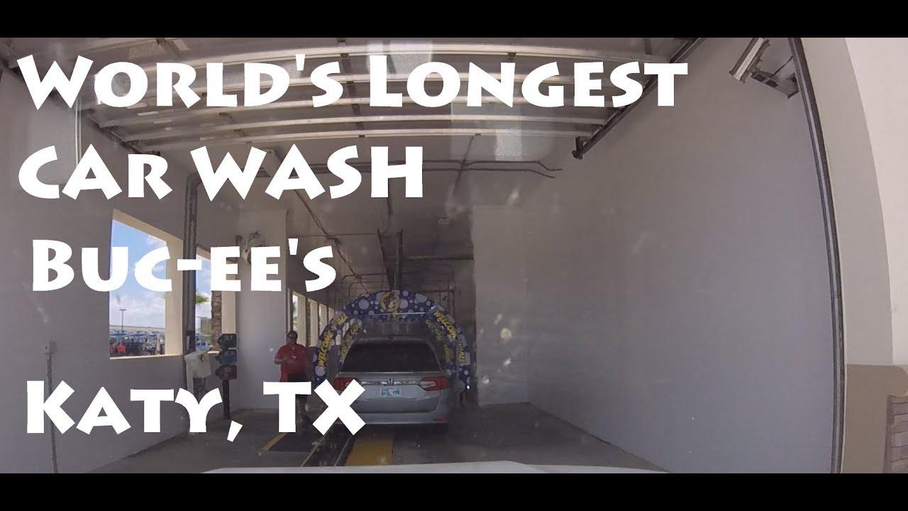 World S Longest Car Wash Macneil Tunnel At Buc Ee S Katy Tx