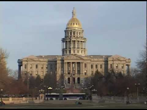 Denver Capital Building has Real Gold Roof