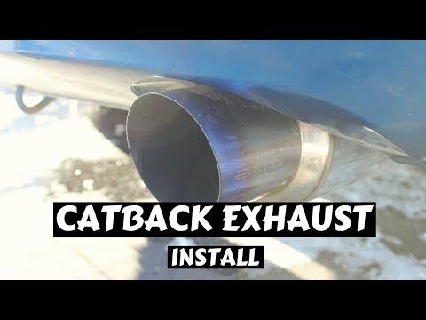 Invidia N1 Catback Exhaust Installed - Civic Si
