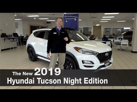 New 2019 Hyundai Tucson Night Edition   Brooklyn Park   St Louis Park   Mpls   Bloomington   MN