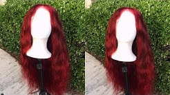 How To: Bleach & Dye Your Bundles & Closure Red | China B.