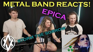 Metal Band Reacts!   Epica - Storm the Sorrow