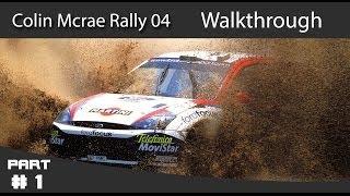 Colin McRae Rally 04 Walkthrough Part 1 - Rally USA (Day 1)