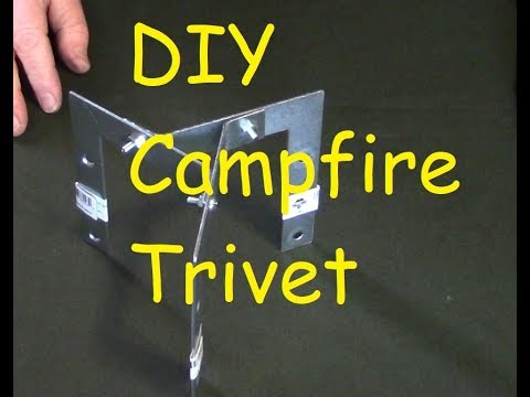 Easy Do-It-Yourself Campfire Trivet