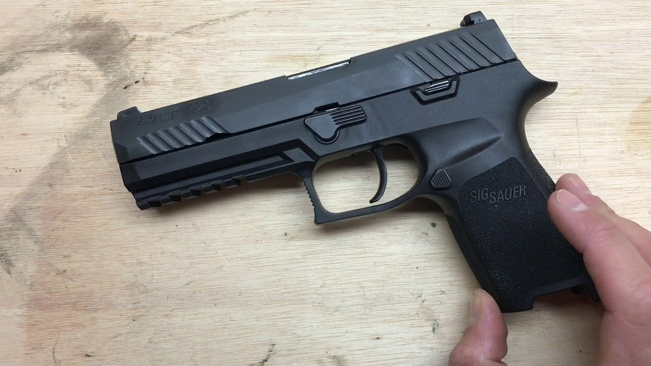 Sig Sauer P320 Trigger Upgrade