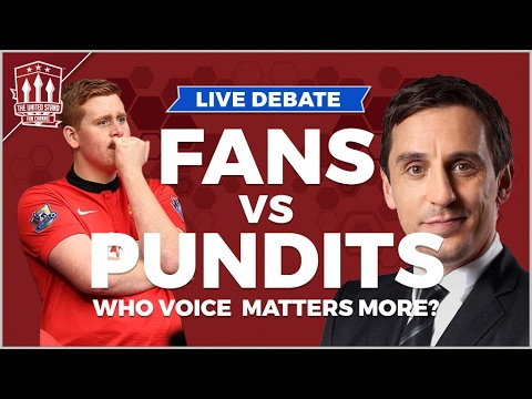 Gary Neville VS Arsenal Fan TV | The LIVE Football Debate
