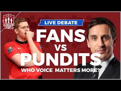 Gary Neville VS Arsenal Fan TV | The LIVE Football Debate