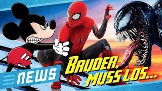 Streit: Fliegt Spider-Man endgültig aus dem MCU & Rey wird böse im Star Wars 9 Trailer - FLIPPS News