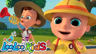 I Love The Mountain - Educational SONG for toddlers |  LooLo...