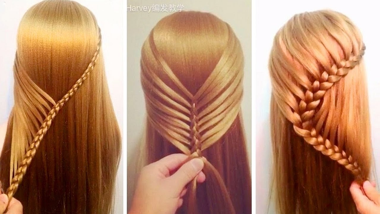 Top 7 Amazing Hair Transformations   Beautiful Hairstyles Tutorials  Compilation 2017 👏👏👏