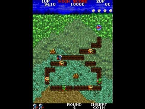 Namco Clasic Collection Vol 2(ARCADE) Dig Dug Arrangement All Levels