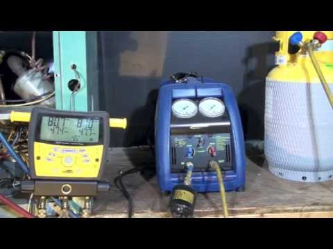 Refrigerant Recovery Operation