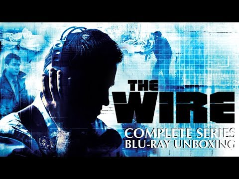 The Wire Complete Series Blu-ray Unboxing!