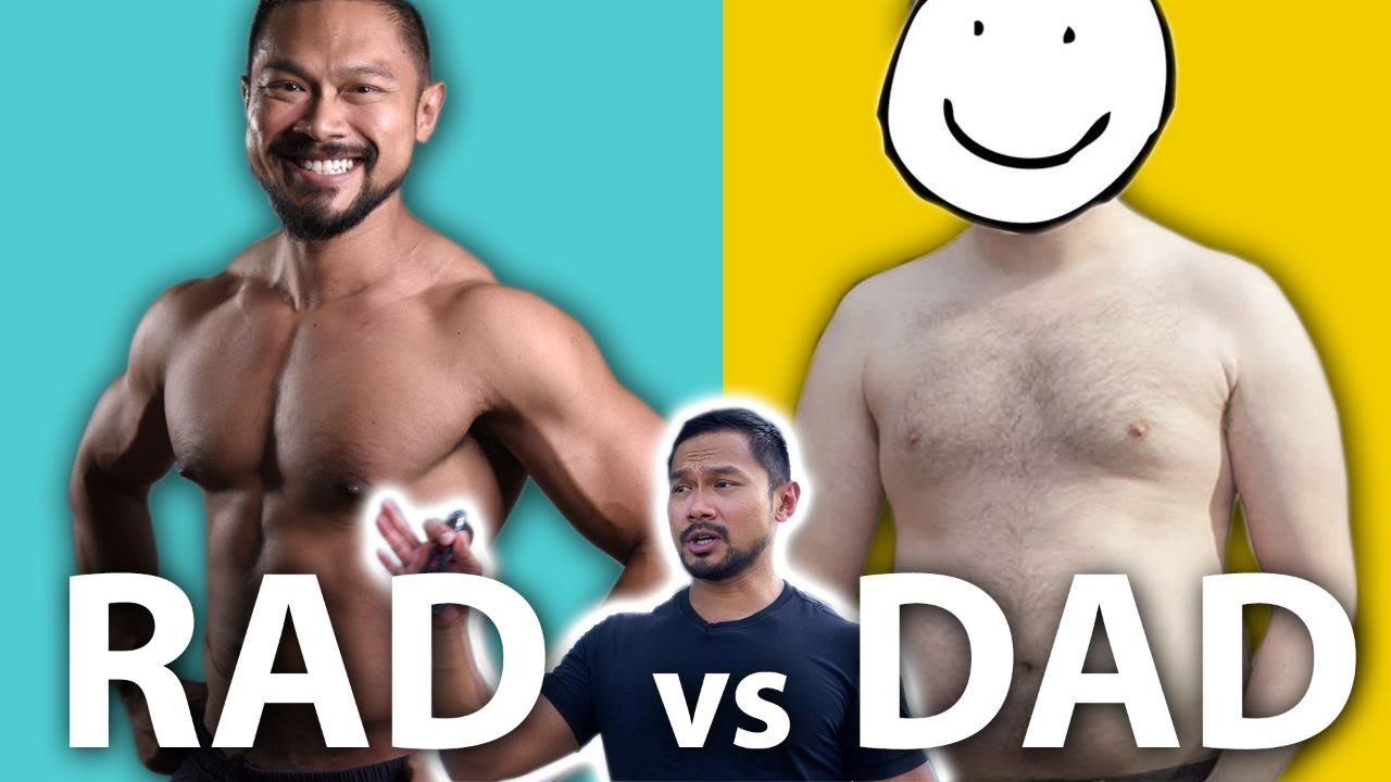 How to be a dad without the DAD BOD