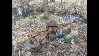 Раскопки на поле боя, погибшие солдаты!