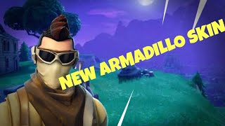 *NEW* ARMADILLO skin fortnite battle royale gameplay
