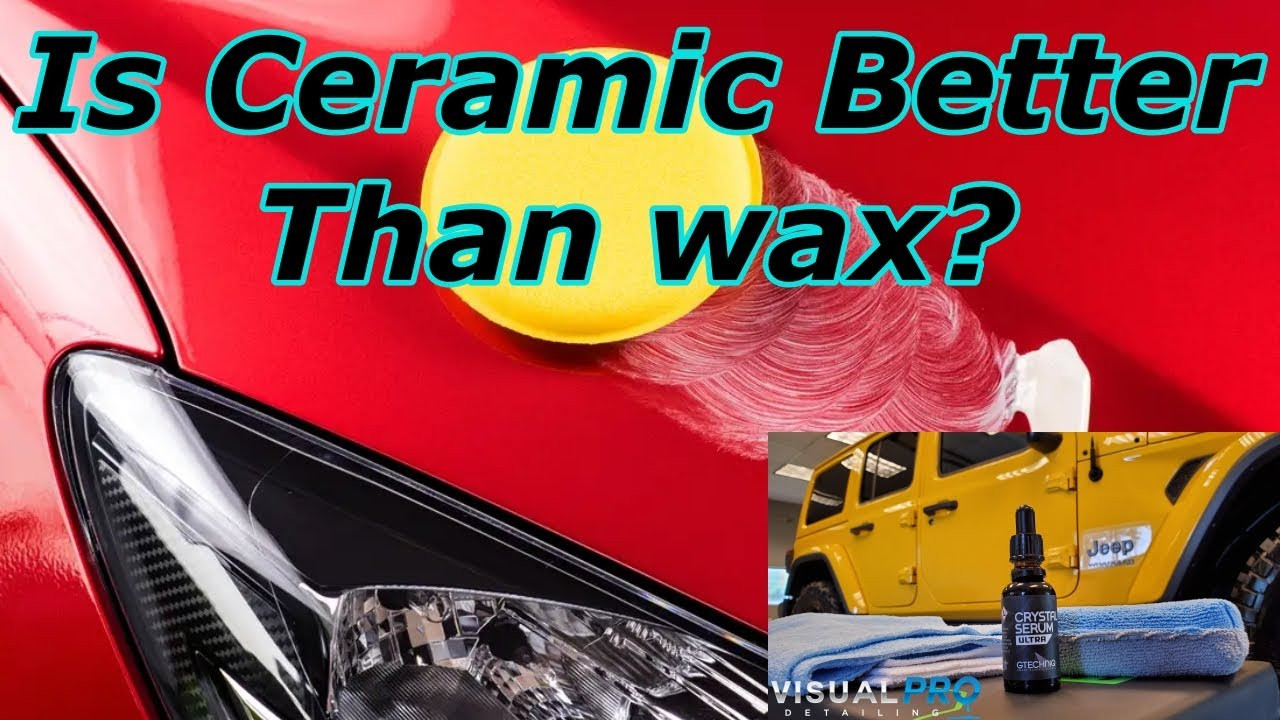 Is a Ceramic Coating Better Than Wax? Answered quickly and simply.