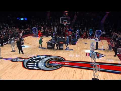 2016 NBA All-Star Skills Challenge Final - Towns vs Thomas