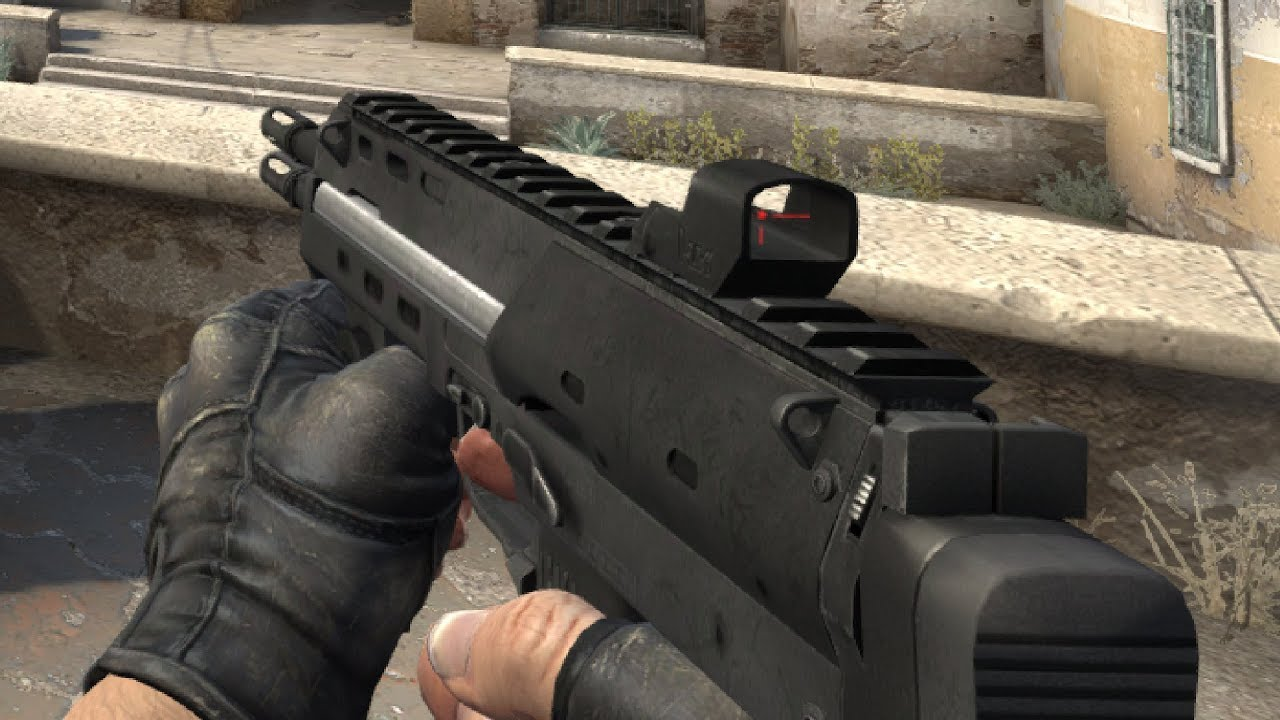 What If We Had The Smg1 From Hl2 In Csgo