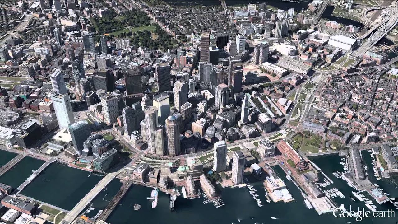 New 3d imagery of boston in google earth 7 youtube gumiabroncs Image collections