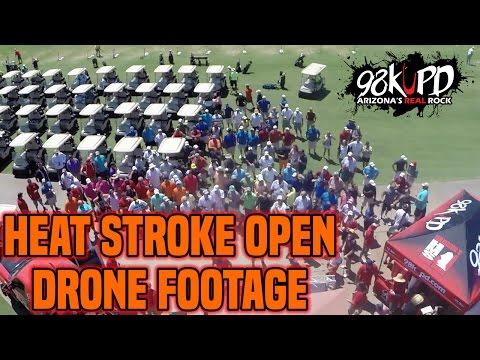Holmberg's Heat Stroke Open 2015 Drone Footage