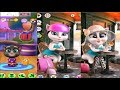 Talking Tom Gold Run Android Gameplay - Frosty Tom - My Talking Angela and Tom Cocktails