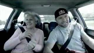 Drifting with crazy grandmother in a WRX STi car يا تيتا روئ