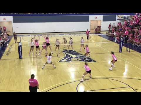 Ellie Orchelle #5 St Henry District High School Varsity-Highlights 2019  Playing for a Purpose