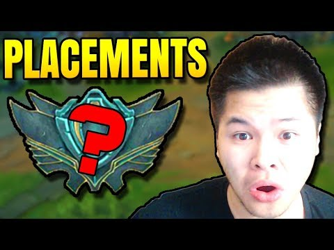 PLACEMENT MATCHES BEGIN!! SEASON 8 CLIMB STARTS NOW - Challenger to Rank 1