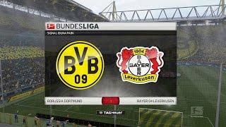 FIFA 17 Bundesliga Prognose | 23. Spieltag: Borussia Dortmund - Bayer 04 Leverkusen